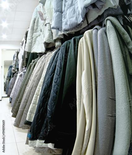 Staande foto Dragen garments
