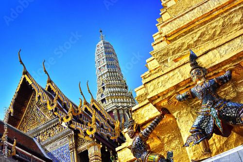 Photo  Grand Palace in Bangkok,Thailand