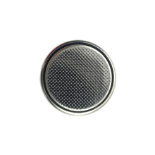 Closeup Button Cell Battery Or...