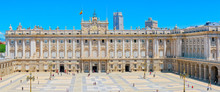 Royal Palace Of Madrid ( Palacio Real De Madrid) Is The Official