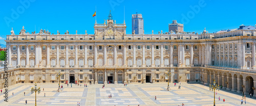 Staande foto Madrid Royal Palace of Madrid ( Palacio Real de Madrid) is the official