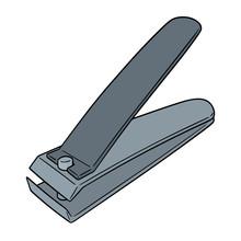 Vector Of Nail Clipper