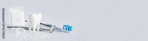 Cuadros en Lienzo Tooth, health, dentistry concept.