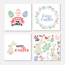 Greeting Card With Lettering A...
