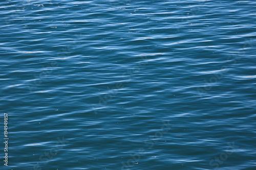 Staande foto Zee / Oceaan water texture blue