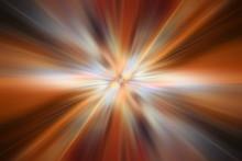 Orange Gradient Background Speed Zoom Blur