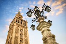 The Giralda, Bell Tower Of The...