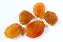 Raisins On White Background Closeup