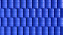 Oil Barrels Blue Wall Composit...