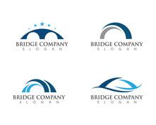 Bridge Icon Vector Illustratio...