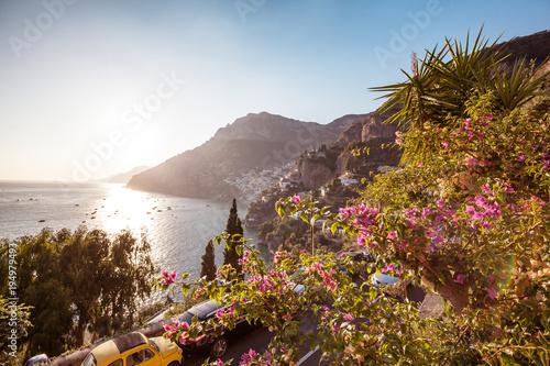 Foto-Schiebegardine Komplettsystem - Mediterranean coast