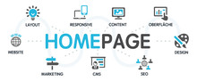 HOMEPAGE Vektor Grafik Icons P...