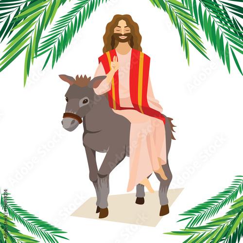 Happy religion holiday palm sunday before easter celebration of the happy religion holiday palm sunday before easter celebration of the entrance of jesus into jerusalem m4hsunfo