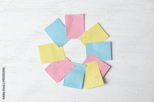 Color stickers on light background  Unity concept - Buy this