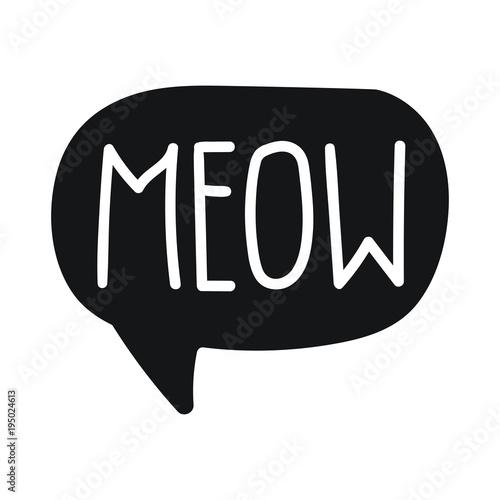 Obraz na plátně Meow