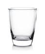 Leinwanddruck Bild - Empty glass isolated on white background