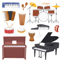Musical Instruments Vector Mus...