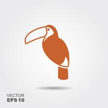 Toucan Bird Icon
