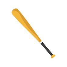 Baseball Bat Isolated On White...