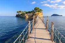 Wooden Bridge From Agios Sosti...