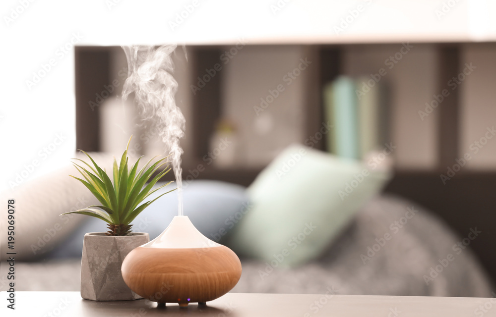 Fototapety, obrazy: Aroma lamp on table