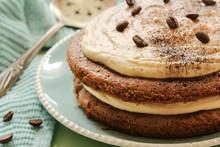 Homemade Coffee Expresso Cake ...