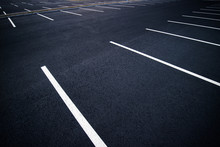 Acres Of Empty Parking Spaces