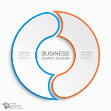 Business Chart Design 2-Step #Vector Graphics