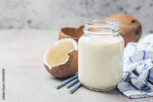 Coconut vegan milk