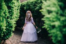 Portrait Of A Little Princess Girl