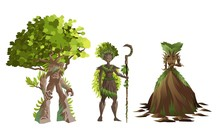Dryad Nature Tree Forest Guard...