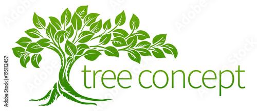 Tree Icon Concept - 195112457