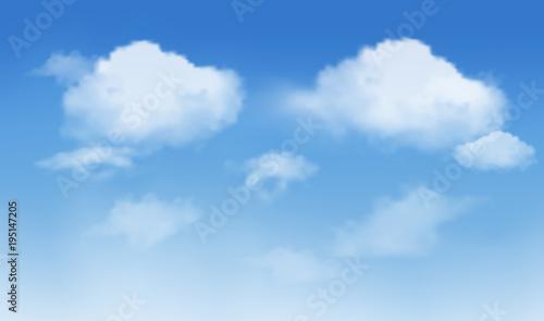 arrière-plan du ciel avec nuage Fototapeta