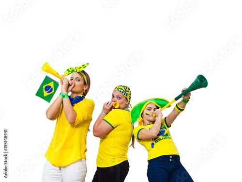Foto  Brazilian three fans