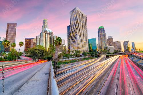 Zdjęcie XXL Los Angeles, Kalifornia, USA Skyline