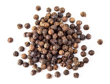 Black Pepper. Heap Of Pepperco...
