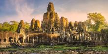 Ancient Temple Bayon Angkor Siem Reap, Cambodia