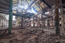 Abandoned Factory Interior