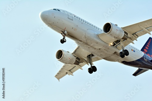Foto op Aluminium Vliegtuig Plane