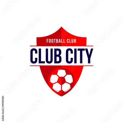 Photo  Club City Football Club Logo Vector Template