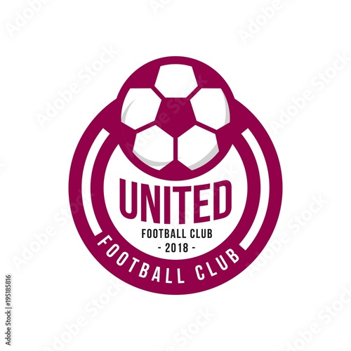 United football club logo vector template buy this stock vector united football club logo vector template maxwellsz