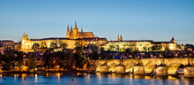 Panorama Of Prague Castle And ...