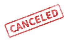 Canceled Stamp - Red Grunge Seal