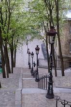 The Steps Of Montmartre, Paris...