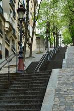 Montmartre Steps, Paris, France