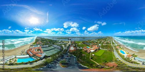Mar A Lago West Palm Beach Florida aerial spherical photo Wallpaper Mural