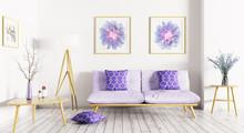 Interior Of Living Room 3d Ren...