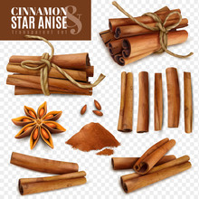 Cinnamon Star Anise Transparen...