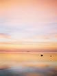 Amazing sunset on ocean