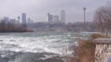 City View Behind Niagara River...
